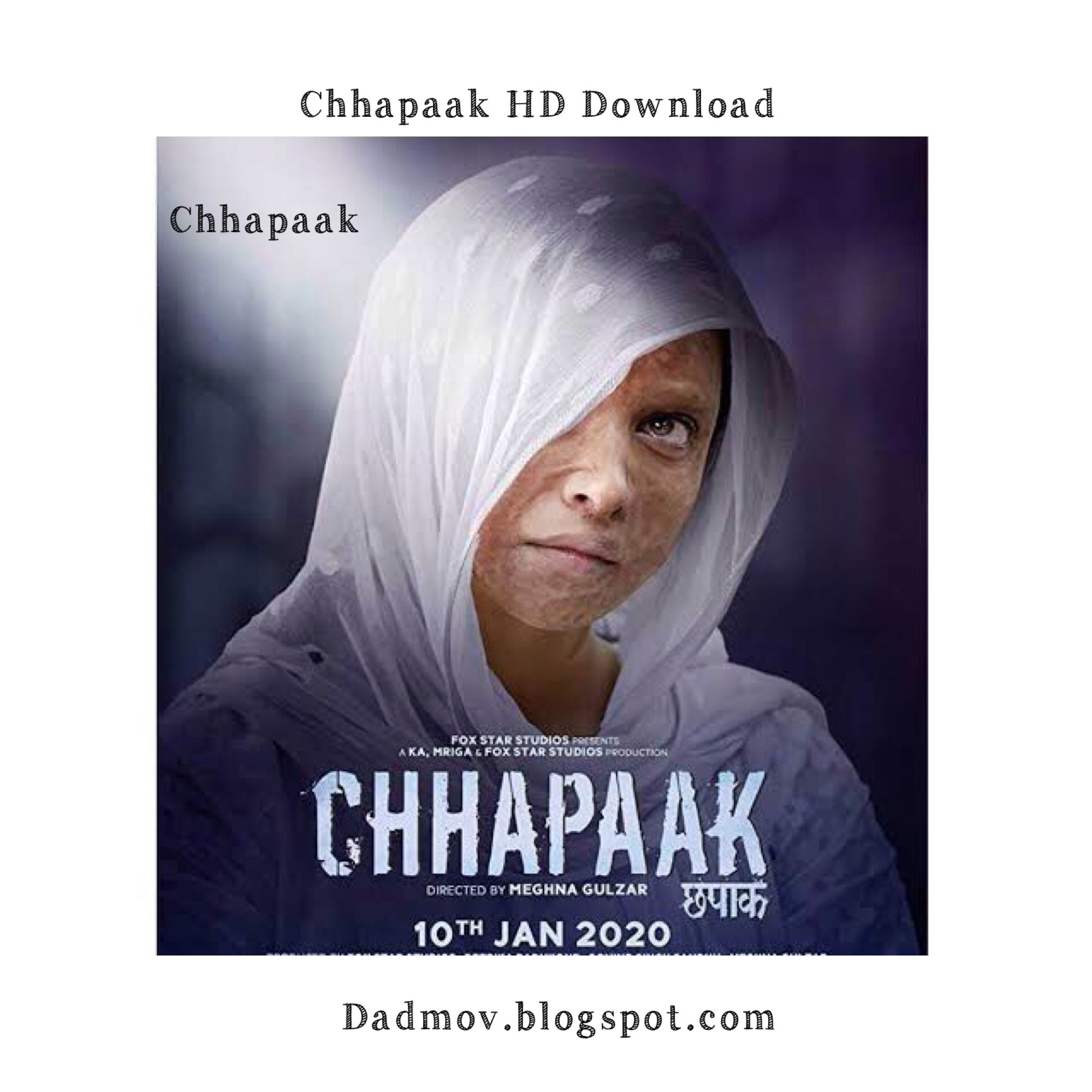 Chhapaak Bollywood Movie Hd Download In 2020 Download Movies