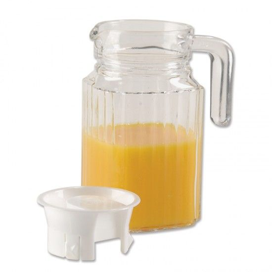 Glass Pitcher with Lid | Regalitos y Bebe