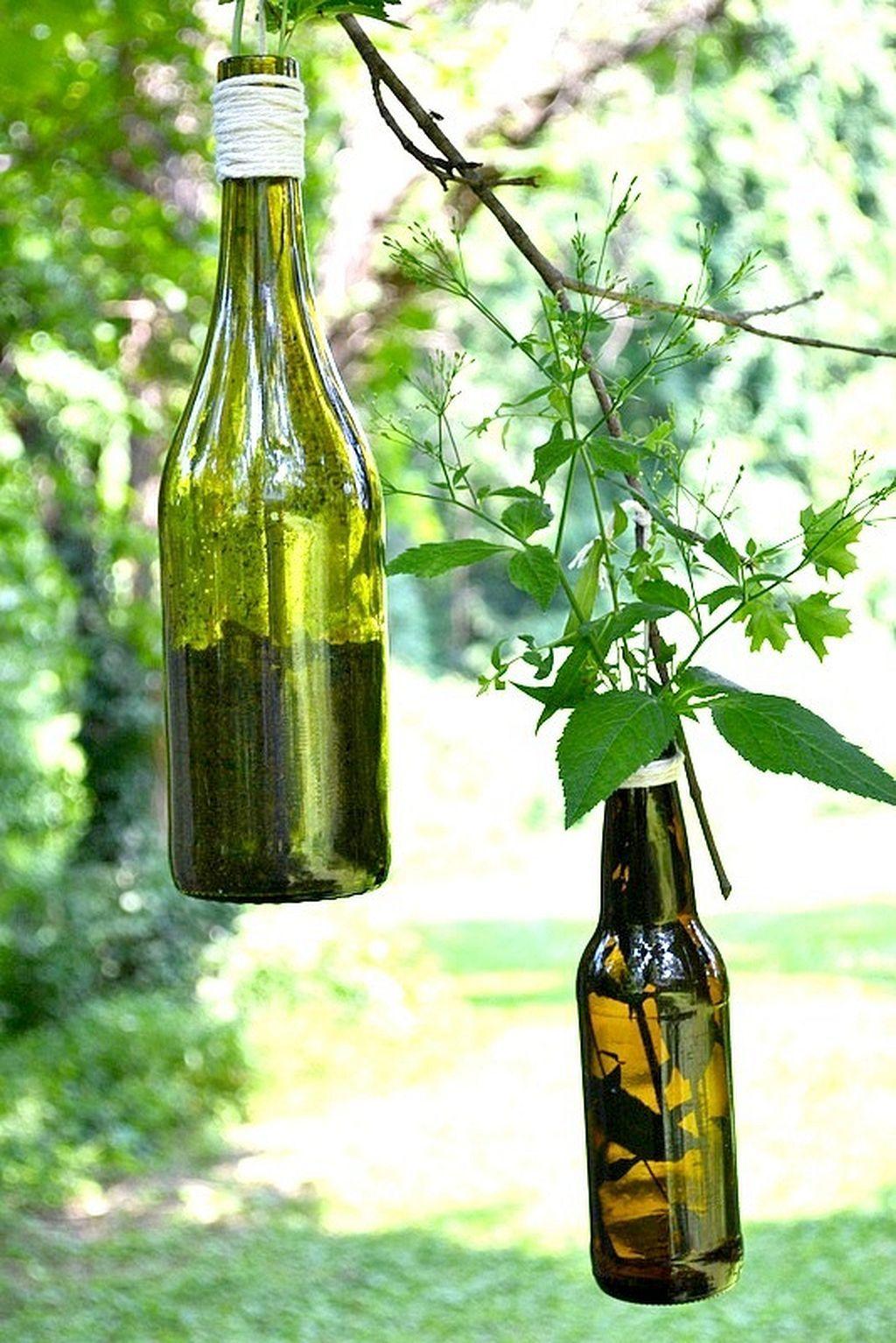 Awesome 17 Wine Bottle Plant Hanger Ideas https://gardenmagz.com/17 ...