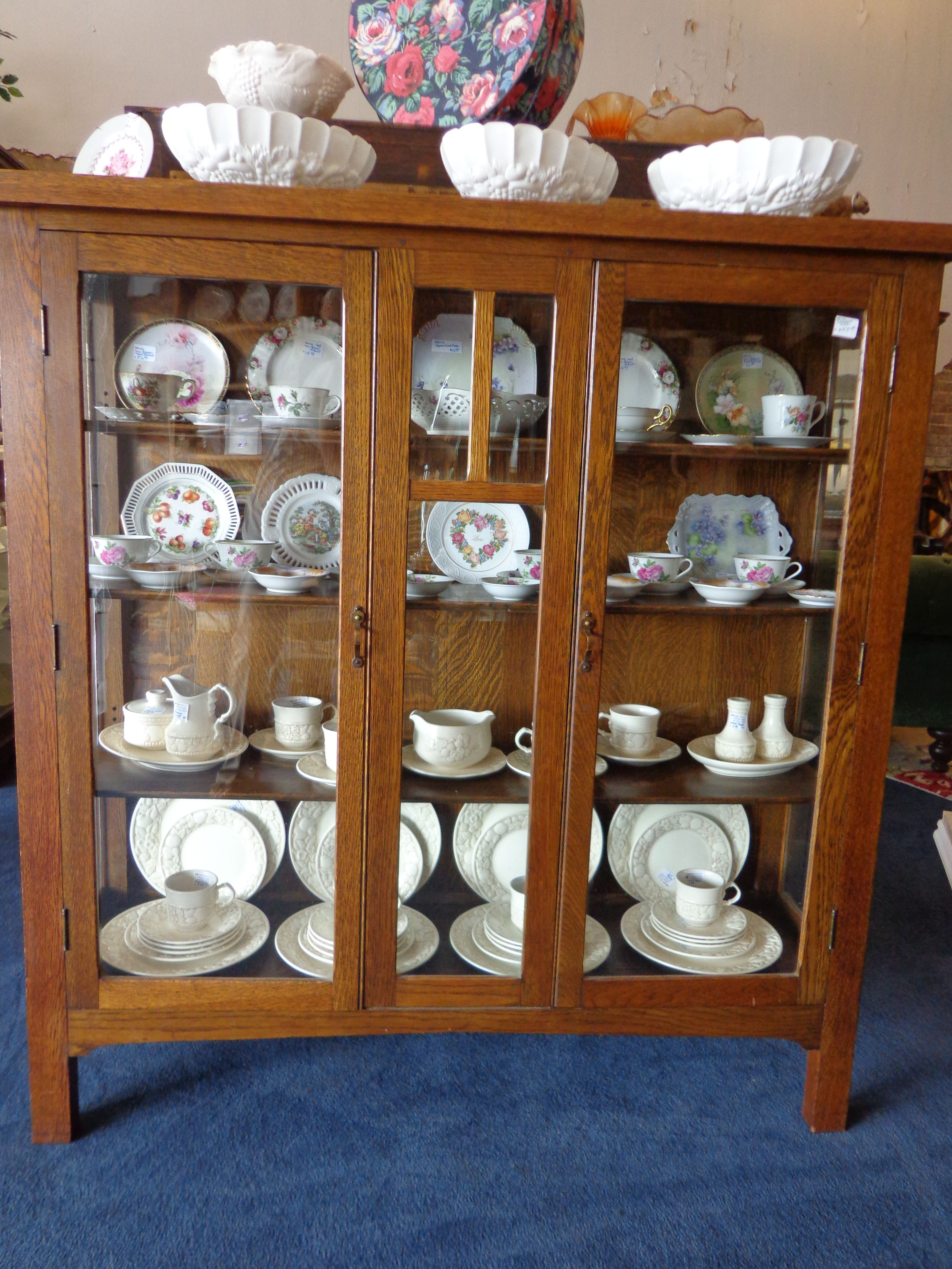 Cups and saucers china cabinet vintage items for the home