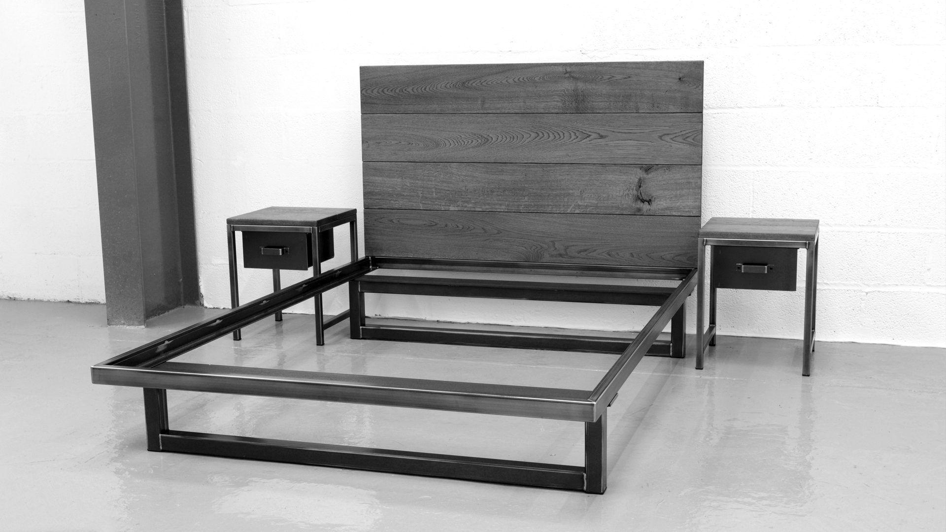 The blacksmith bed by steel vintage luxury handmade industrial