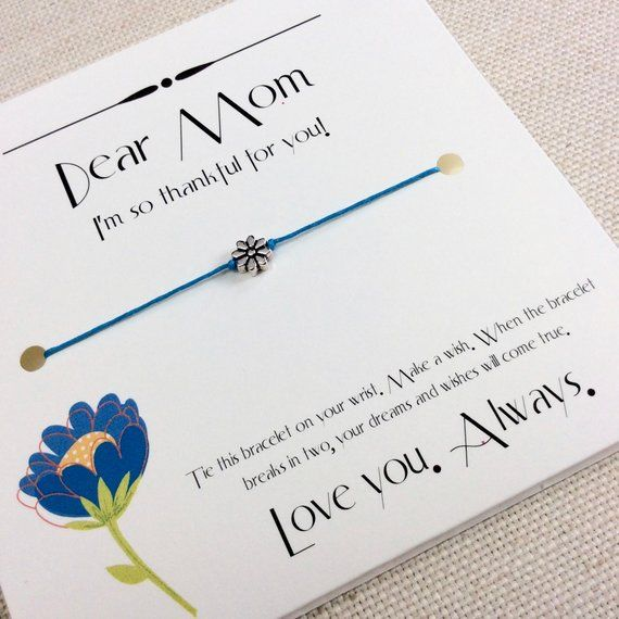 Mom Birthday Card Gift From Son