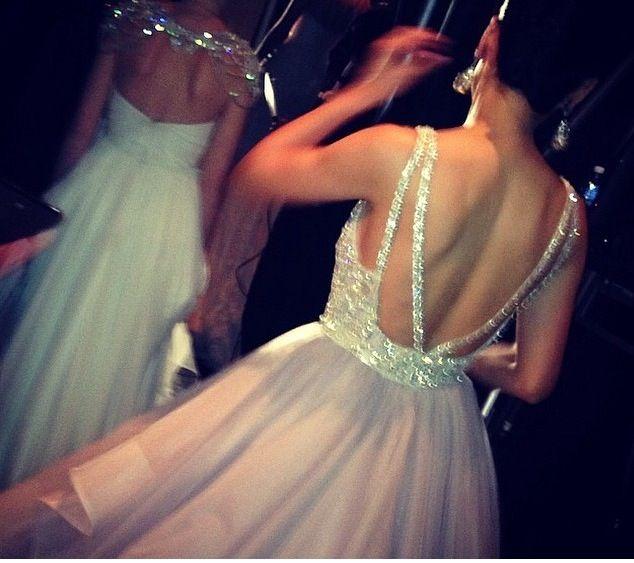 Back of Haley Paige Dress