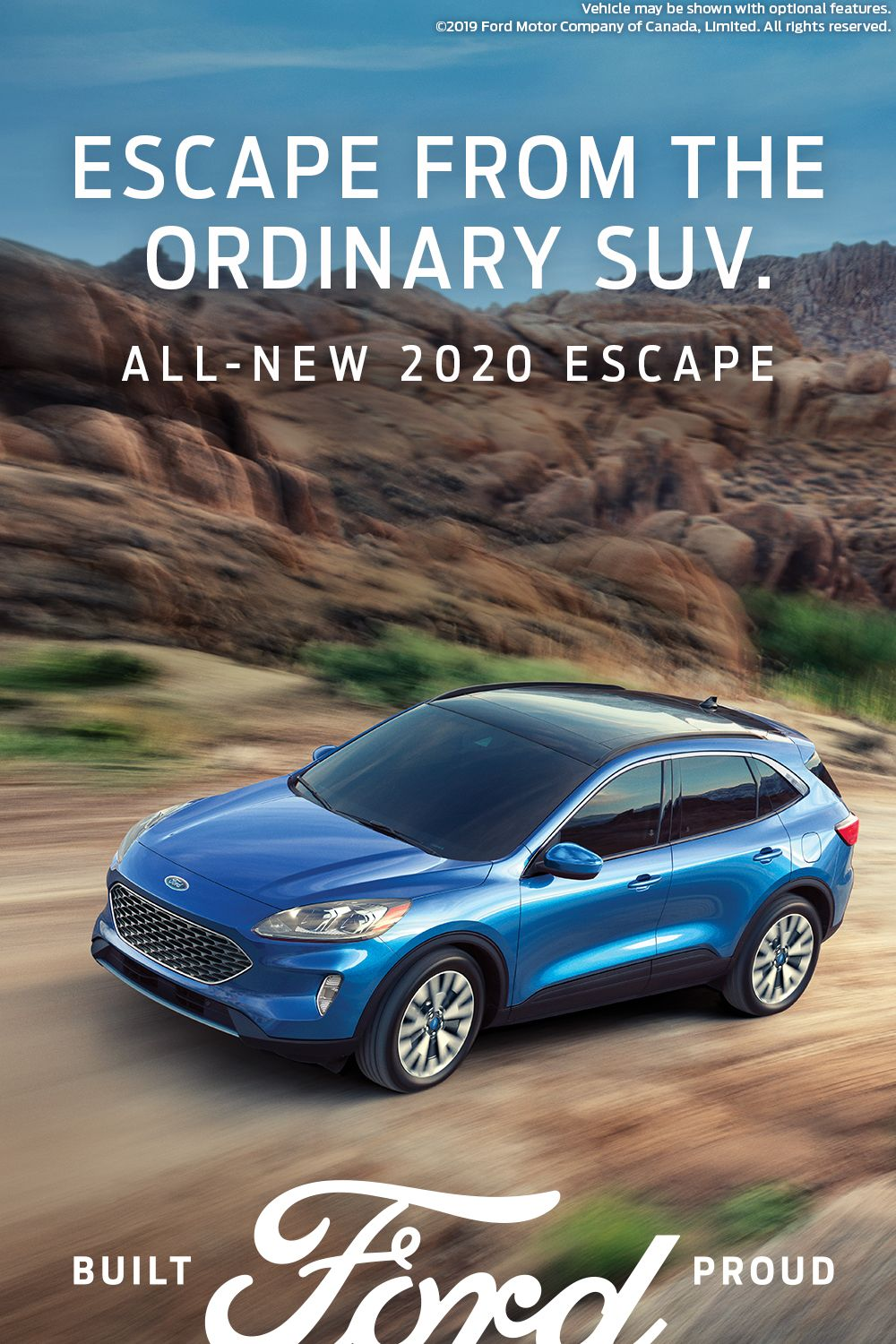 The reimagined Ford Escape. Ford escape, Ford motor