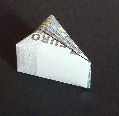 Geldschein Kase Geld Origami Und Handmade