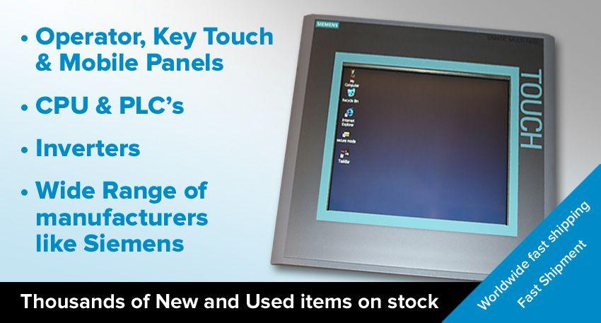 Siemens Allen Bradley Uniop Lauer Panels | HMI Panels | Spare parts