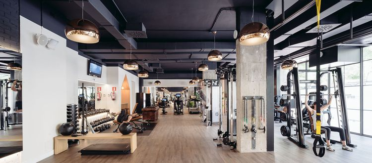 Club xii boutique gym in madrid by i! arquitectura elevate gym