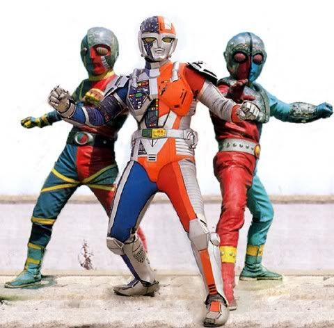 jinzō ningen kikaider v choujinki metalder crossover 正義の味方 キカイダー01 キカイダー