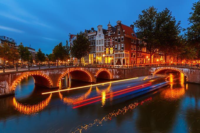 El Puente Del Los 15 Puentes Amsterdam Amsterdam Holanda Holanda