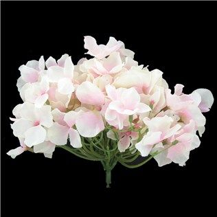 Pale Pink Hydrangea with Small Bloom | Shop Hobby Lobby... These would look so cute in my candle holders
