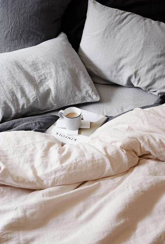 d4650c0b62e These Pillowcases Will Give You Gorgeous Hair and Skin Grey Bed Linen