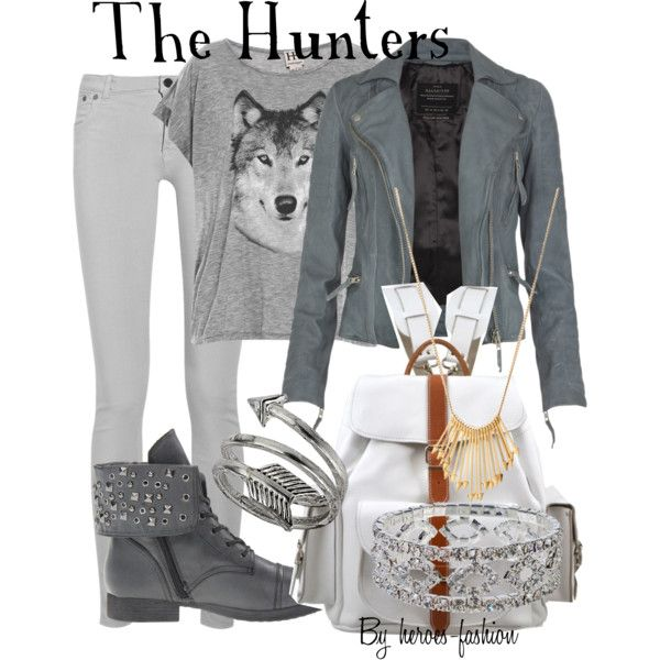"""""""The Hunters: Greek Maiden Followers of Artemis"""" by heroes-fashion on Polyvore"""