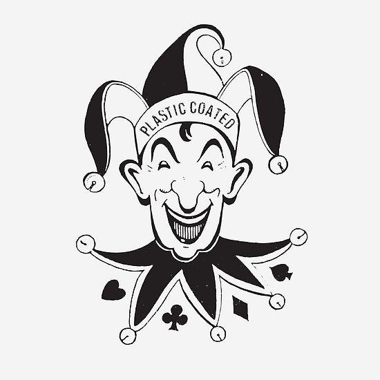 Vintage Joker Card Face By Javier Martinez Joker Playing Card Joker Card Joker Face Tattoo