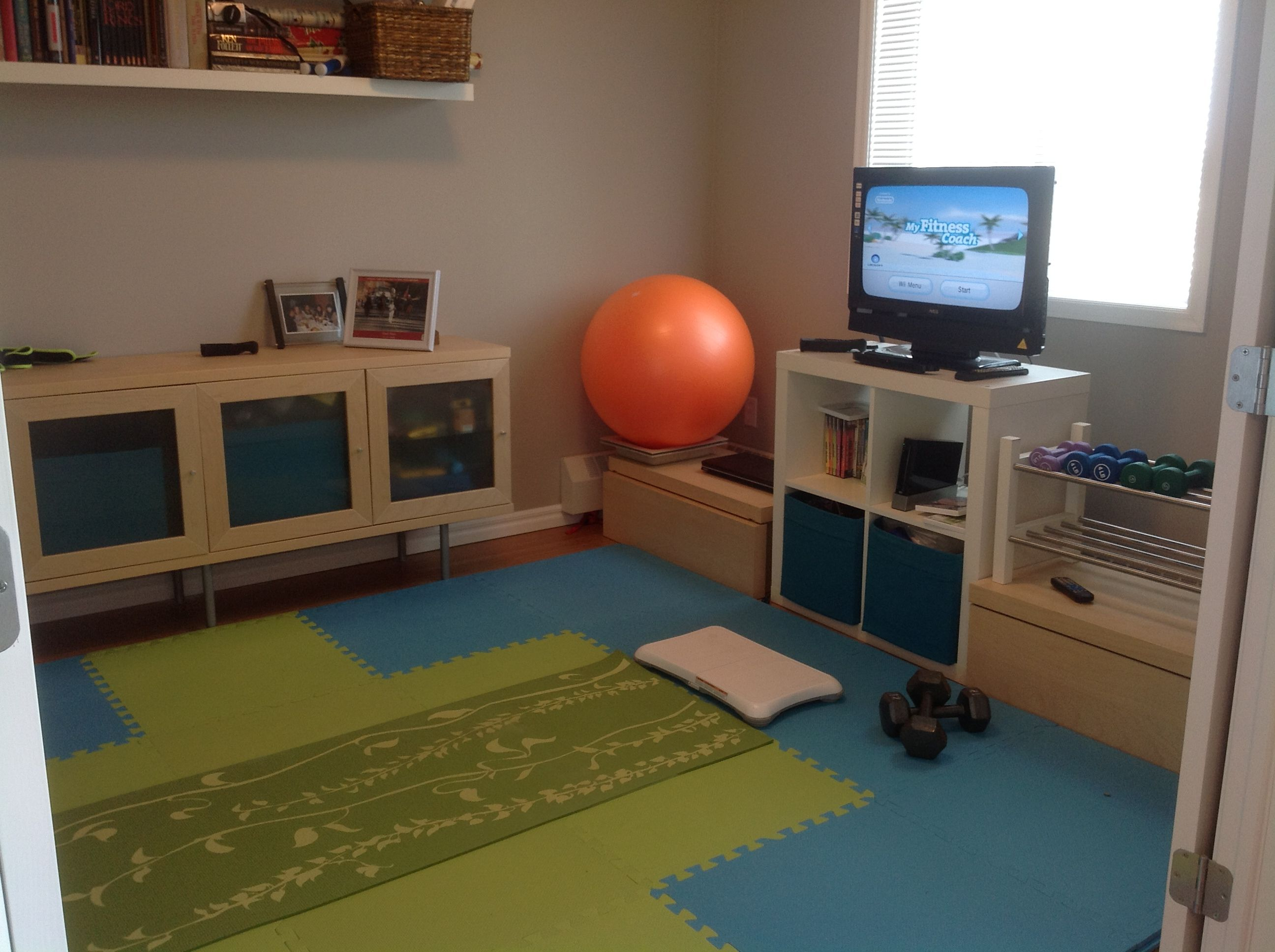 home gym for a small apartment health and fitness pinterest