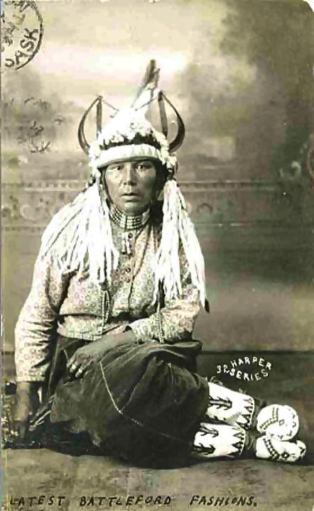 Assiniboine Woman - 1908