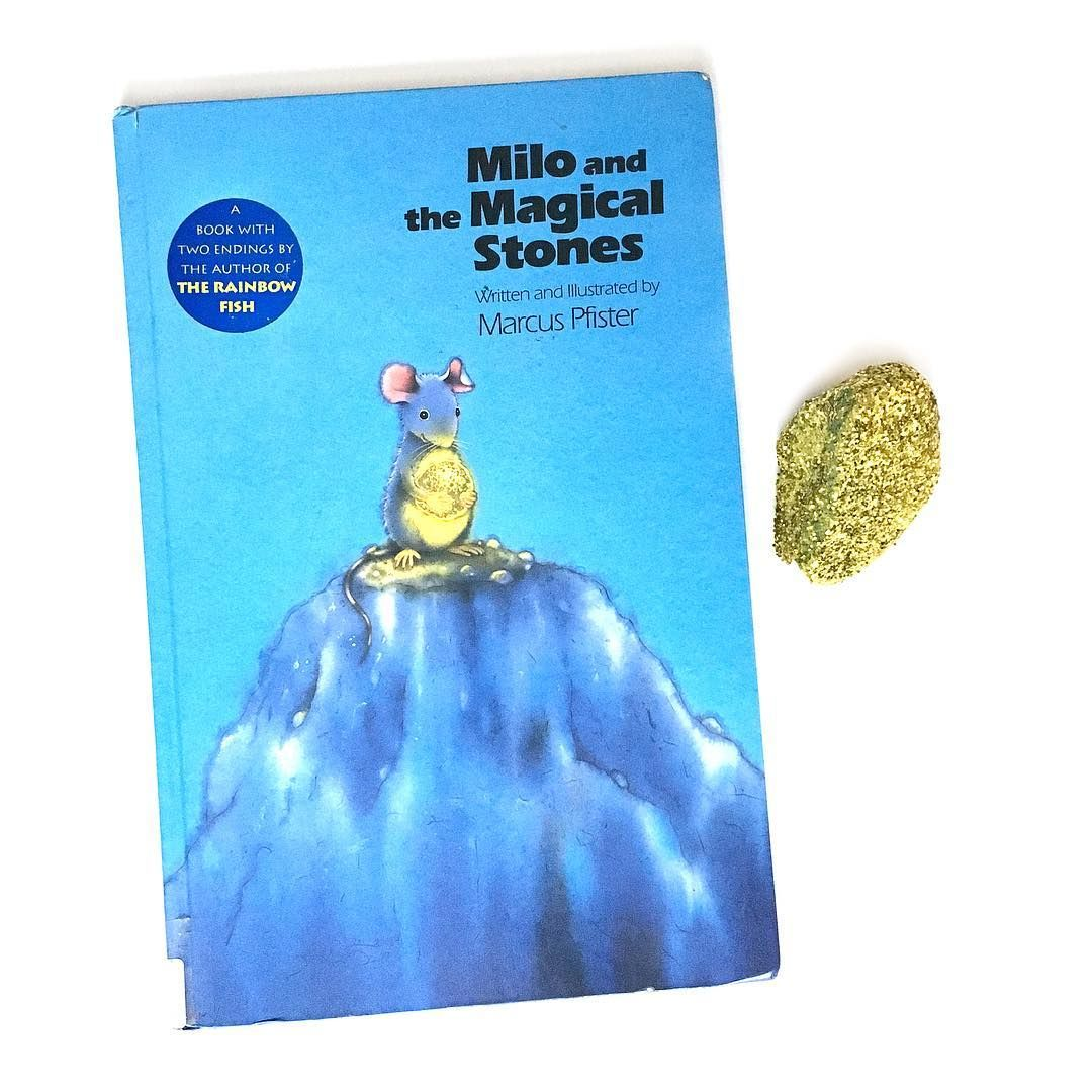 """Milo and the Magical Stones"" is one of our new favorites. 🐭It's"