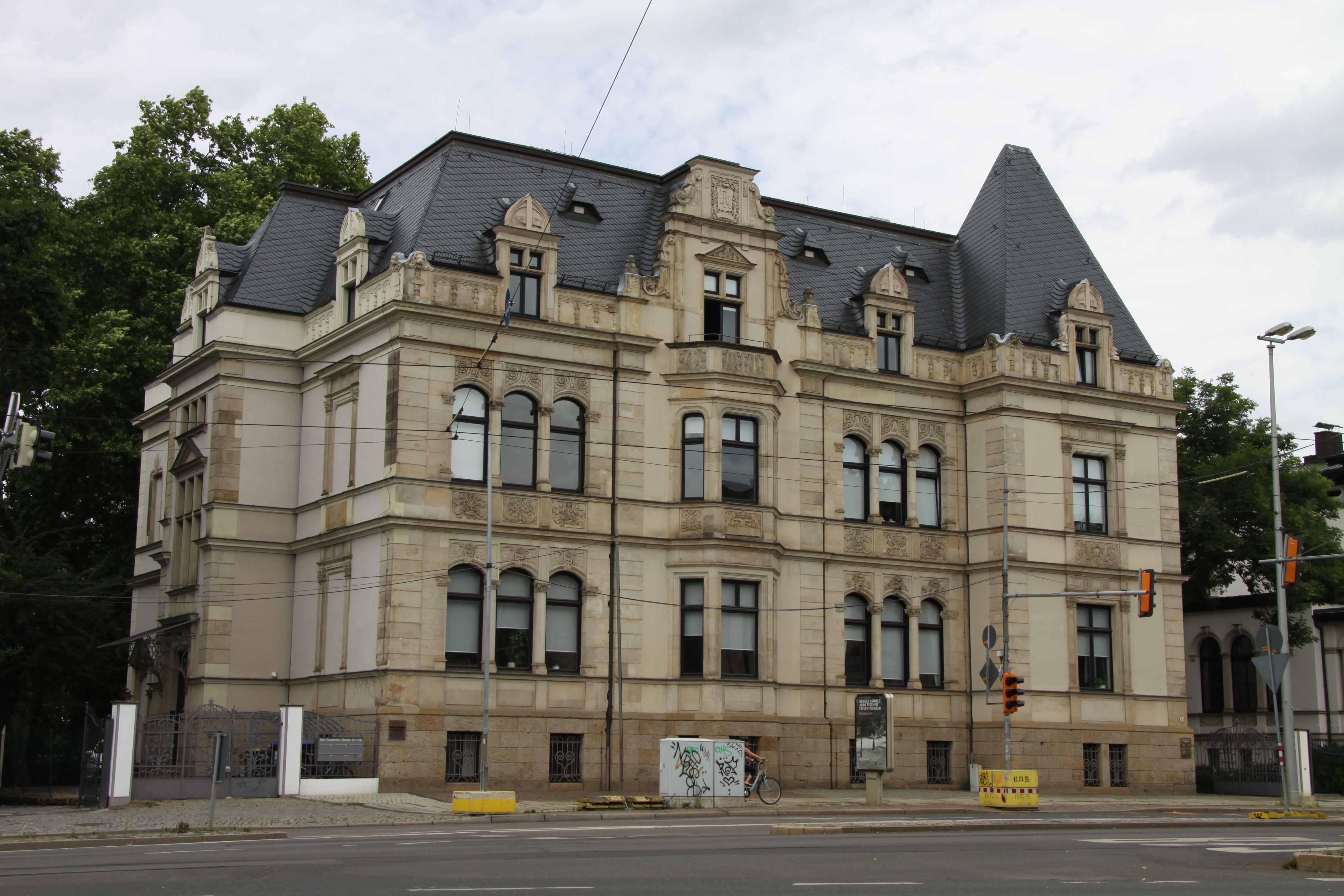 Villa RentschRöder Leipzig, KarlTauchnitzStrasse Alte
