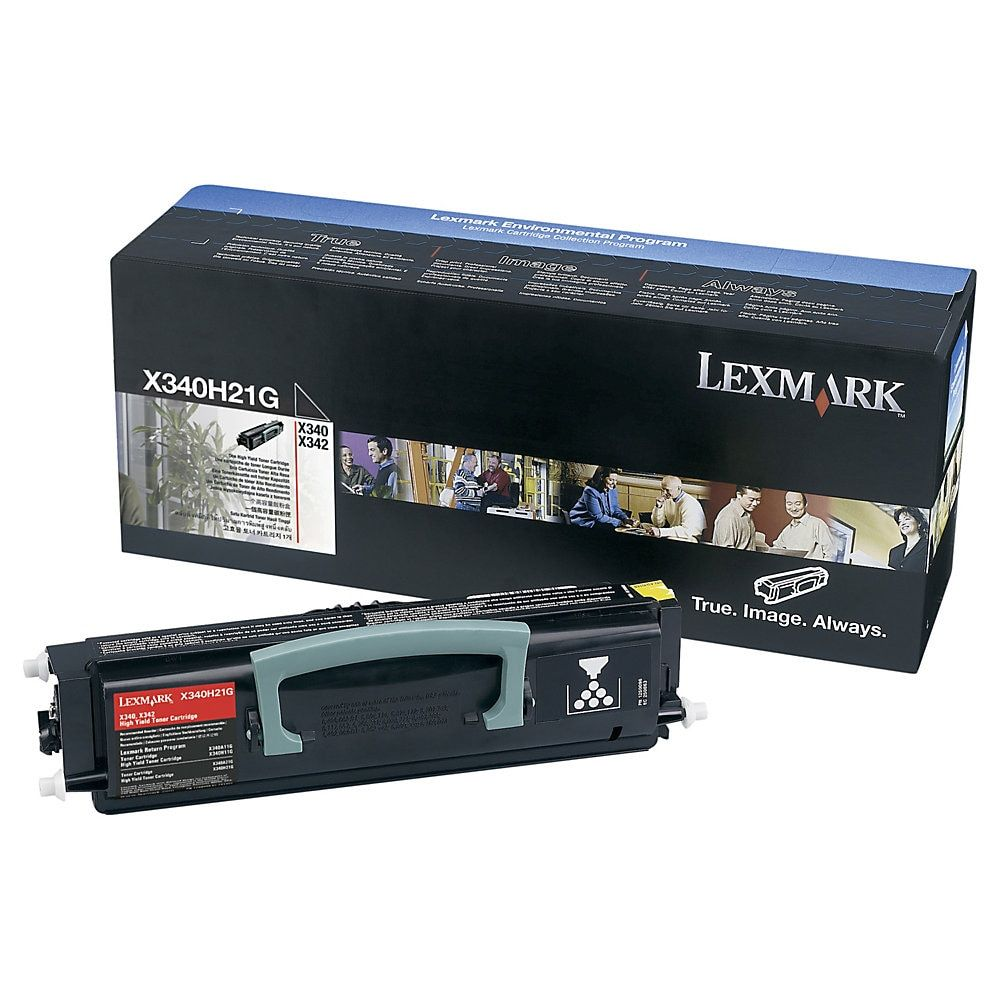 Lexmark X340H41G Black Toner Toner cartridge, Micr toner