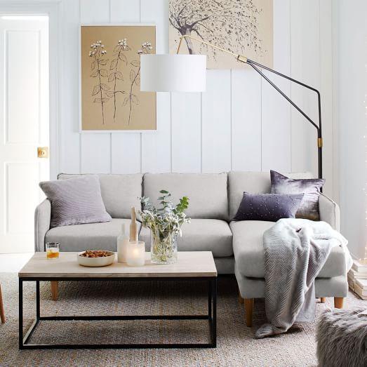Quinn Sectional Sectional Sofas Living Room Modern Sofa