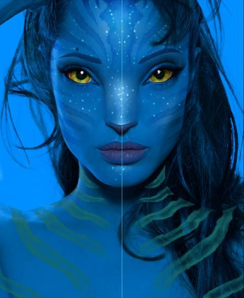 Cat Avatar Maker 2: Creating Avatar Navi Character In Photoshop