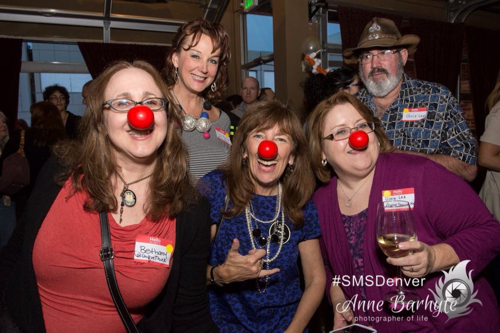 Red Nose Day prep at #SMSDENVER