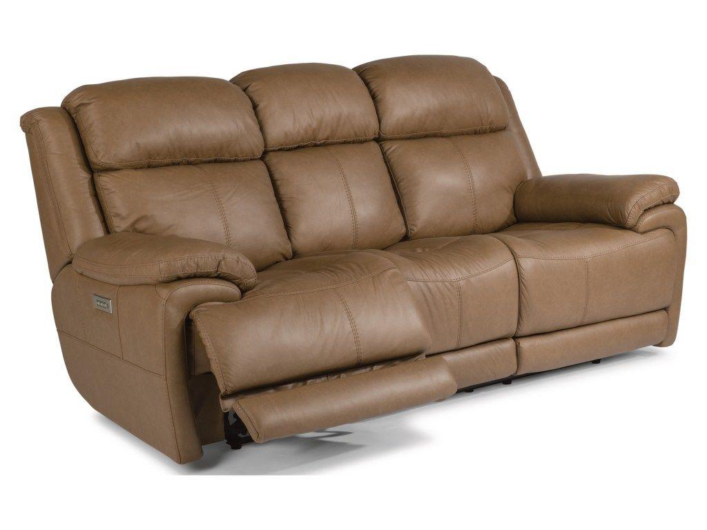 Latitudes Elijah Power Reclining Sofa With Power Headrest Providing You With A Slightly More Mod Power Reclining Loveseat Power Reclining Sofa Reclining Sofa