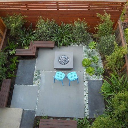 San Francisco Concrete Slab Cost With Contemporary Outdoor Lounge
