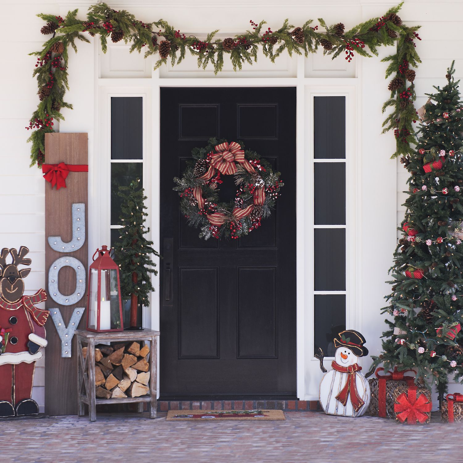 Outside Home Christmas Decorating Ideas: Decorating Your House For Christmas