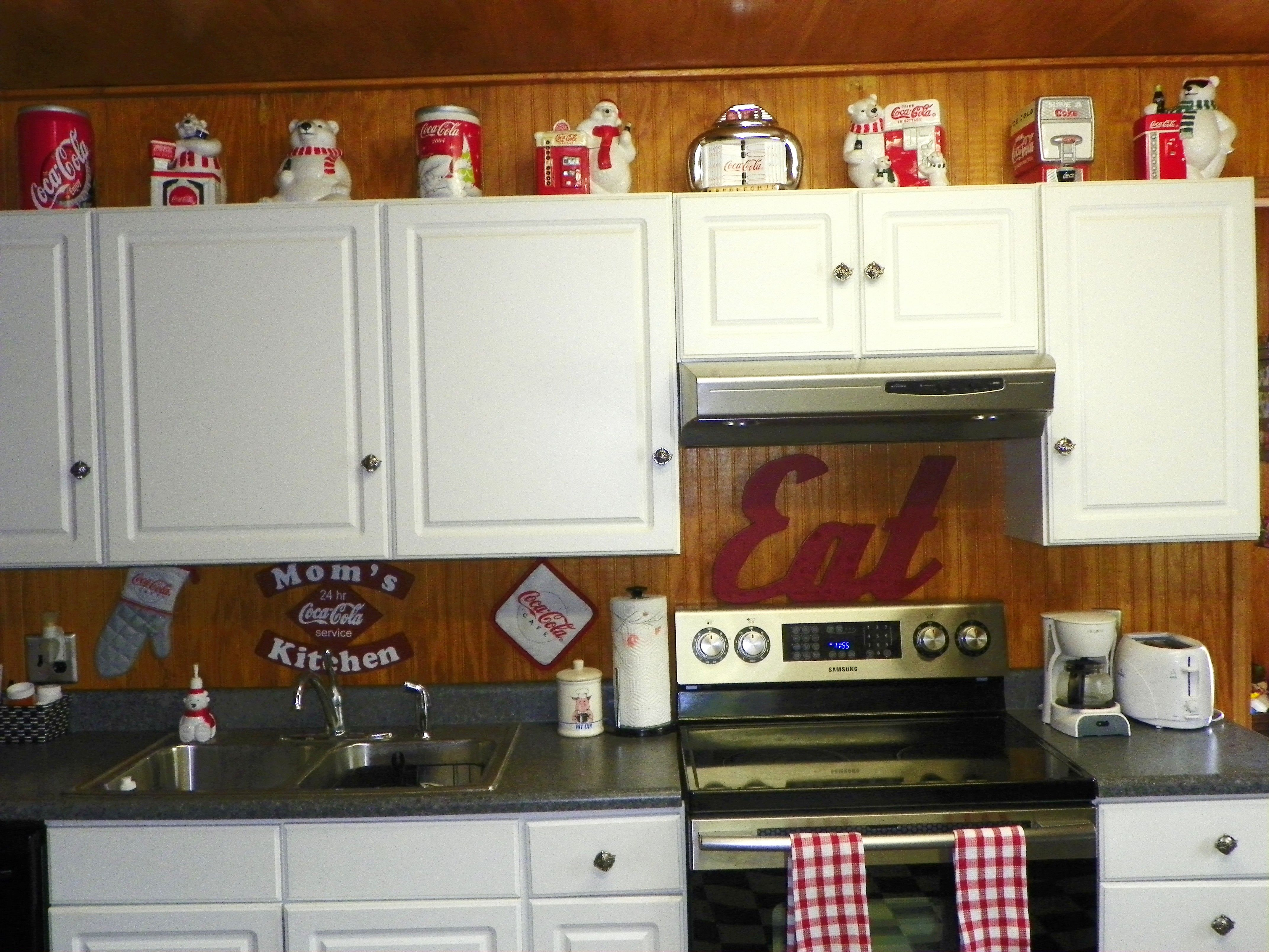 Vintage Coke Fridge Kitchen Pinterest