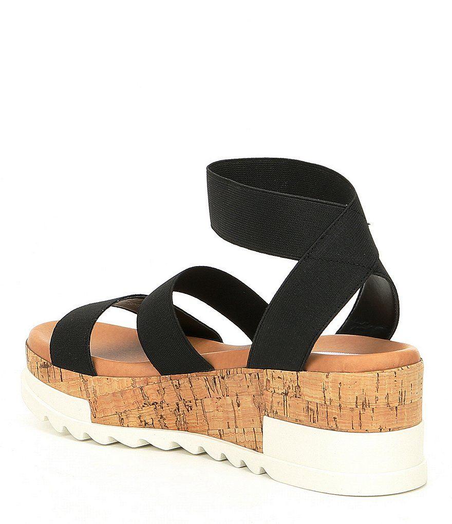 581f06917be2 Steve Madden Bandi Elastic Platform Sandals Bandi