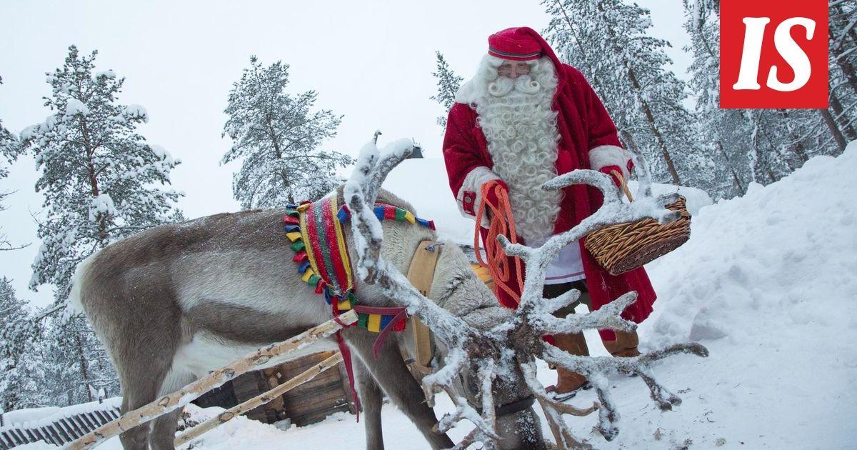 Joulupukki on lähtenyt jokavuotiselle lahjanjakomatkalleen ympäri ...