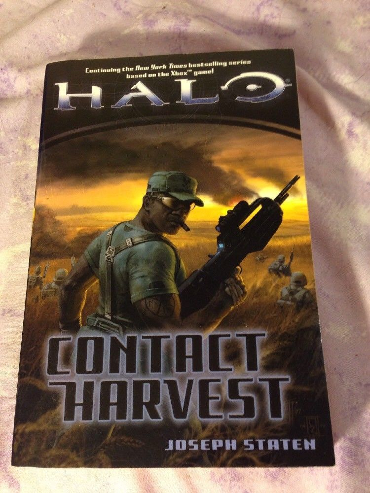 Halo  Halo  Contact Harvest 5 By Joseph Staten  2007  Paperback   With Images