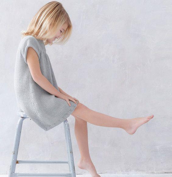 Modèle robe grise enfant Phil Madrague - Modèles Enfant - Phildar ...