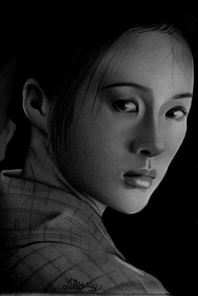 geisha drawing - Google Search