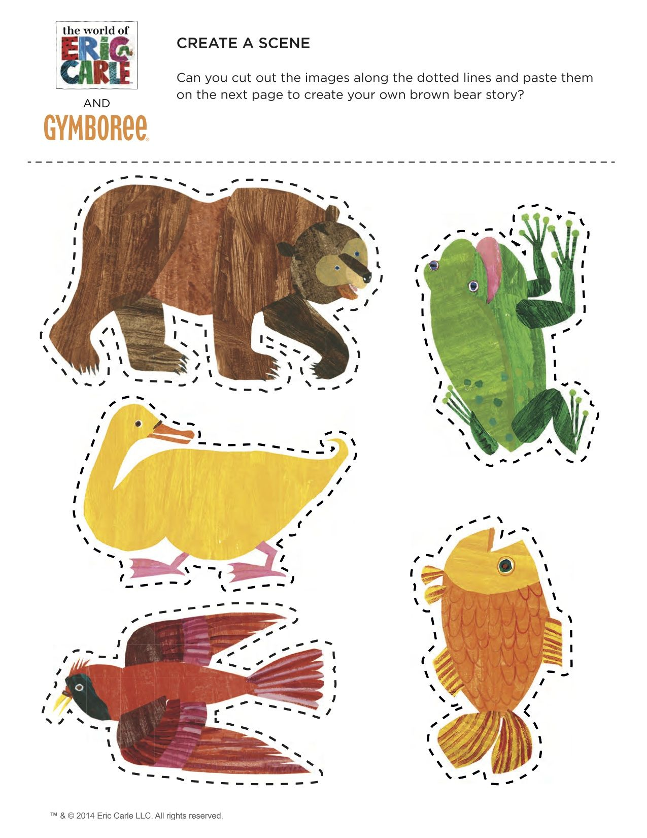 Brown Bear Scene With Images