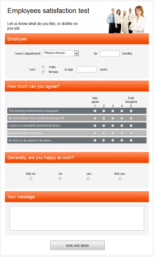 questionnaire template pages free survey templates | Interesting ...
