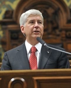 Governor Snyder S 2015 State Of The State Address Child Protection Rick Snyder Kalamazoo