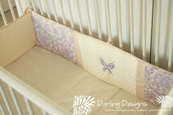 5+Piece+Custom+Crib+Bedding+Set+w/FREE+by+DarlingDesignsbyLB,+$320.00