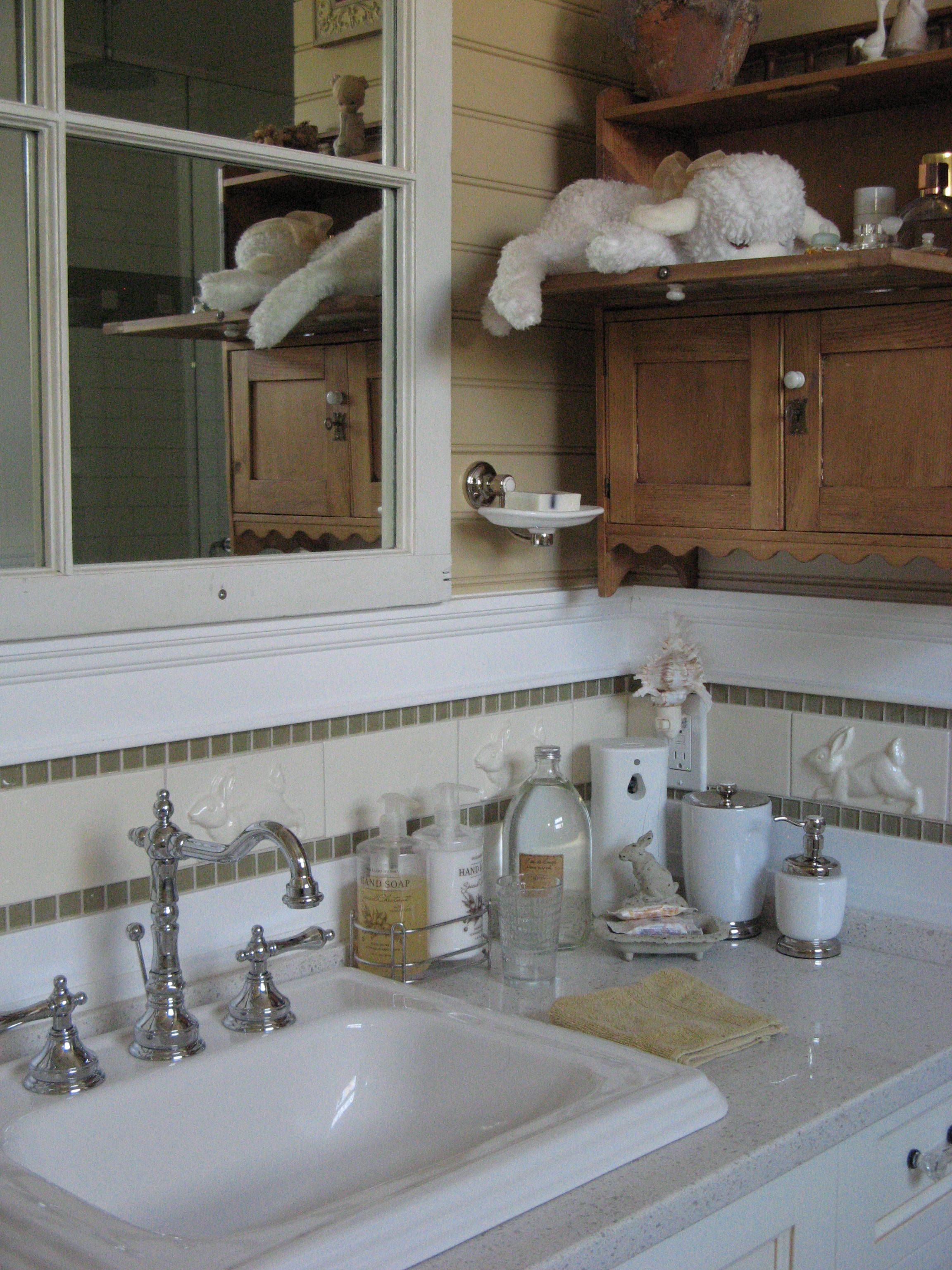 Ensuite Bathroom with Toto Sink and Riobel Faucets Bathroom