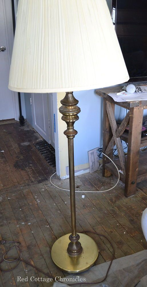 Vintage Floor Lamp Makeover Floor Lamp Makeover Lamp Makeover Vintage Floor Lamp