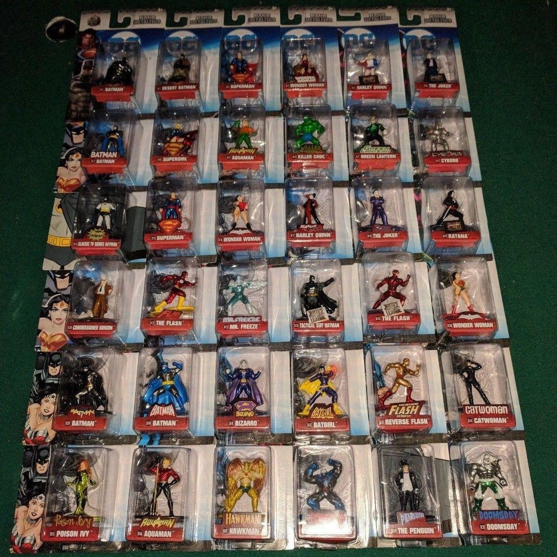 Dc Comics Nano Metalfigs Complete Set Of 36 Metal Figures Wave 1 2 3 Rare Htf 150 00 End Date Saturday Mar 31 2018 8 56 33 Pdt Buy It