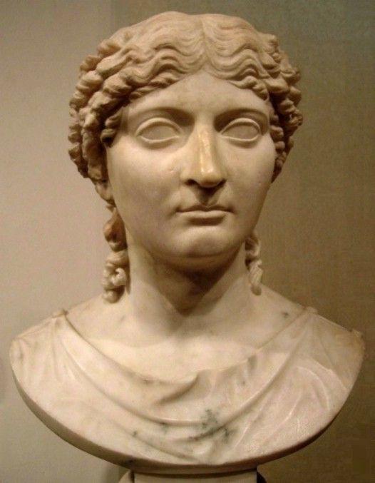 Probable retrato de Julia hija de Augusto y Escribonia