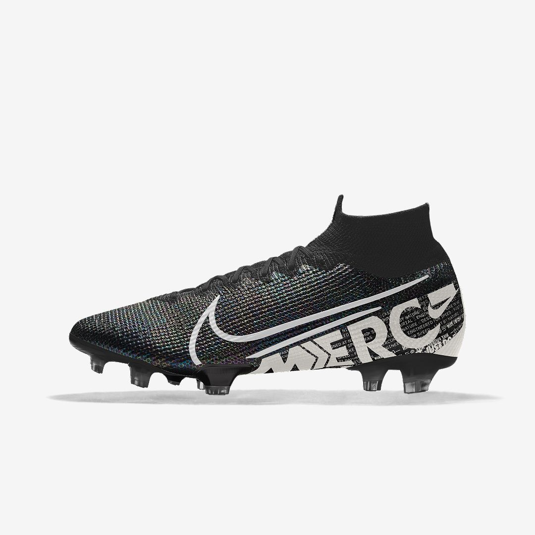 Nike Mercurial Superfly 7 Elite Fg By You Custom Firm Ground Soccer Cleat Size 10 5 Multi Color Mens Football Boots Soccer Boots Nike