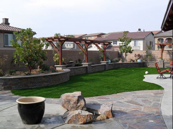 Nice Basic Backyard Landscaping Ideas 24 Simple Backyard ...
