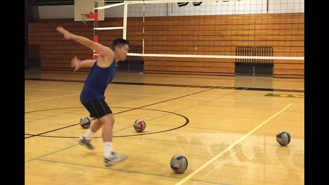Improve Spiking Timing Part 1 2 How To Spike A Volleyball Tutorial Youtube Volleyball Drills Volleyball Workouts Volleyball Practice