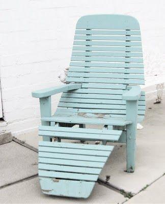 Lovin\u0027 this aqua blue beach chair Chairs Pinterest Turqueza y - sillas de playa