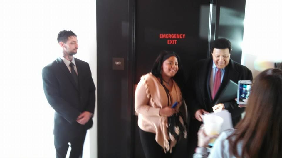 Private security for Chubby Checker (March 8th, 2015) with Agent Justin Kosko