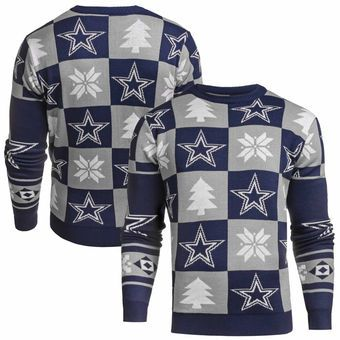 2016 Edition FOCO NFL Patches Style Ugly Sweater