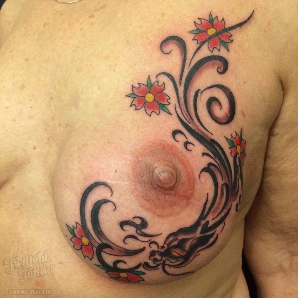 Mastectomy Breast Cancer Nipple Tattoo Breast Tatoo