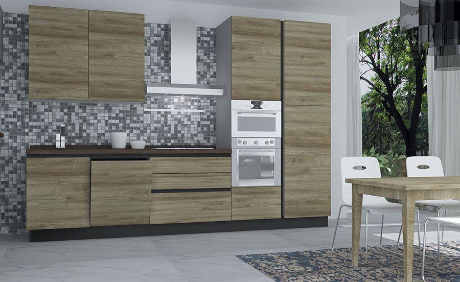 Cucine Di 3 Metri Lineari In Diversi Stili Cucine Arredamento